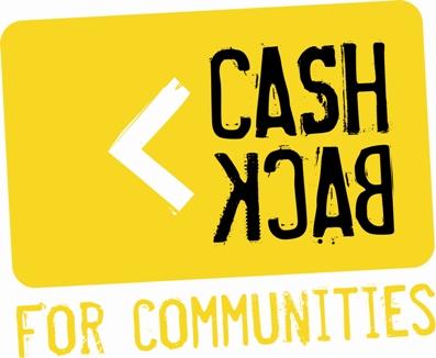 Logo of Cash back for communities